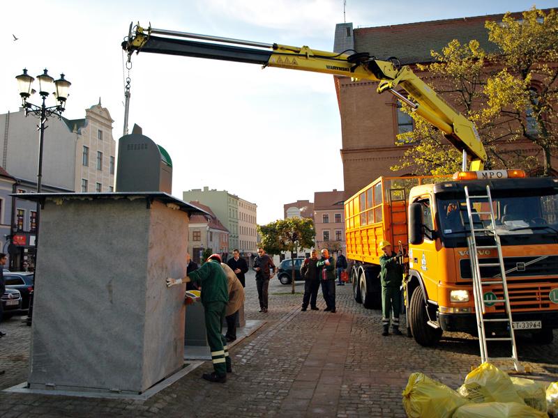 Polskie podziemne, montaż - Toruń