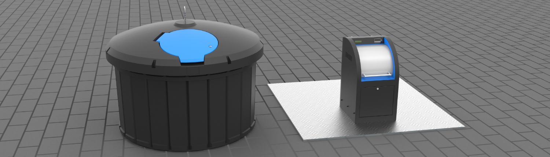 Pojemniki na odpady - półpodziemny i podziemny