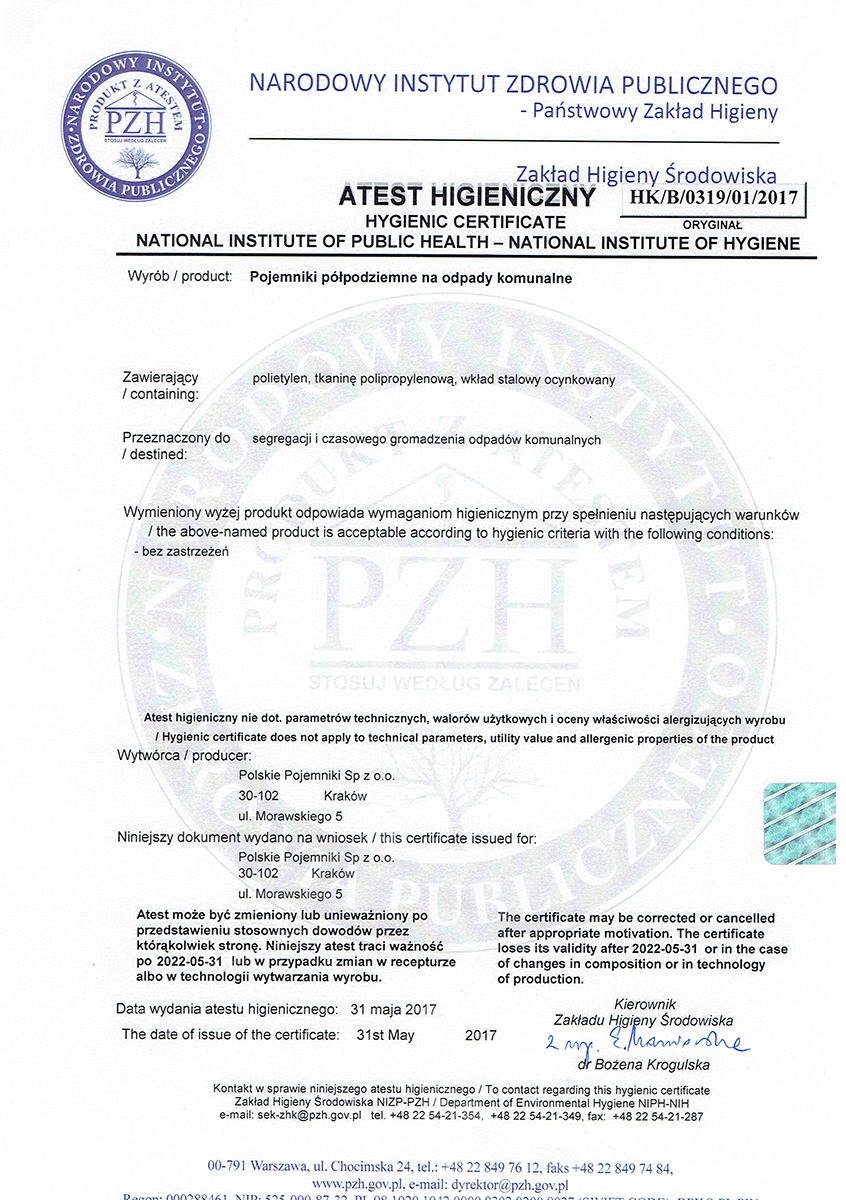 Atest-PZH-