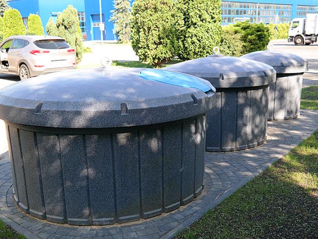 Nasze śmietniki półpodziemne w Katowicach