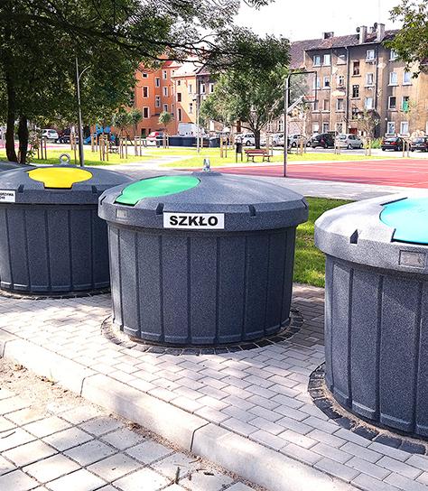 Kontenery półpodziemne w Gdyni