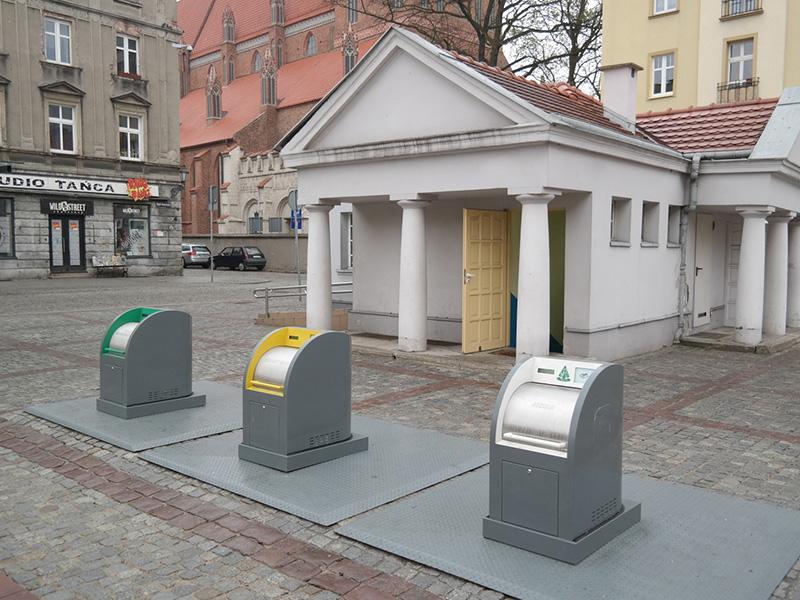 Pojemniki podziemne w Toruniu