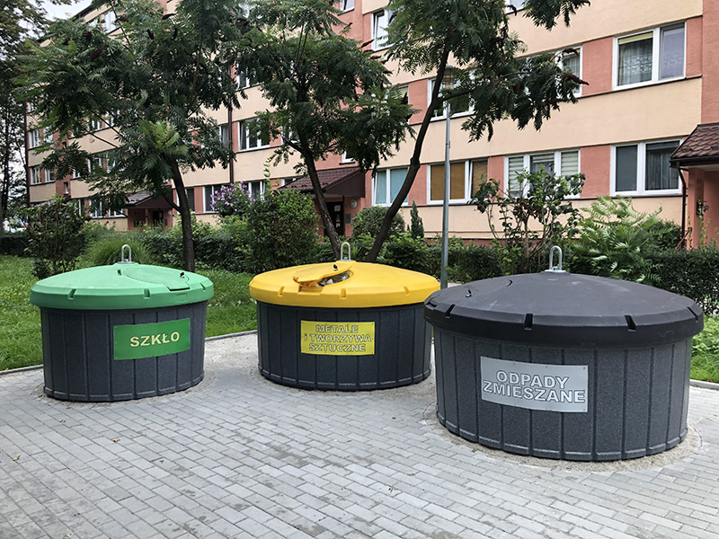 Pojemniki półpodziemne w Tarnowie