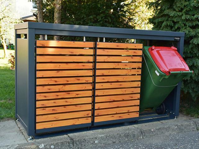 Obudowy do pojemników na śmieci 120-240 l