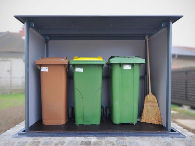Obudowy podziemne dla śmietników 3x240 l