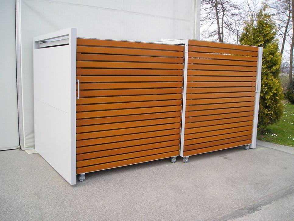 Jak zakryć brzydkie śmietniki? Obudowy do pojemników na śmieci 600-1100 l