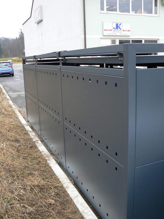 Obudowy do pojemników na śmieci 600-1100 l