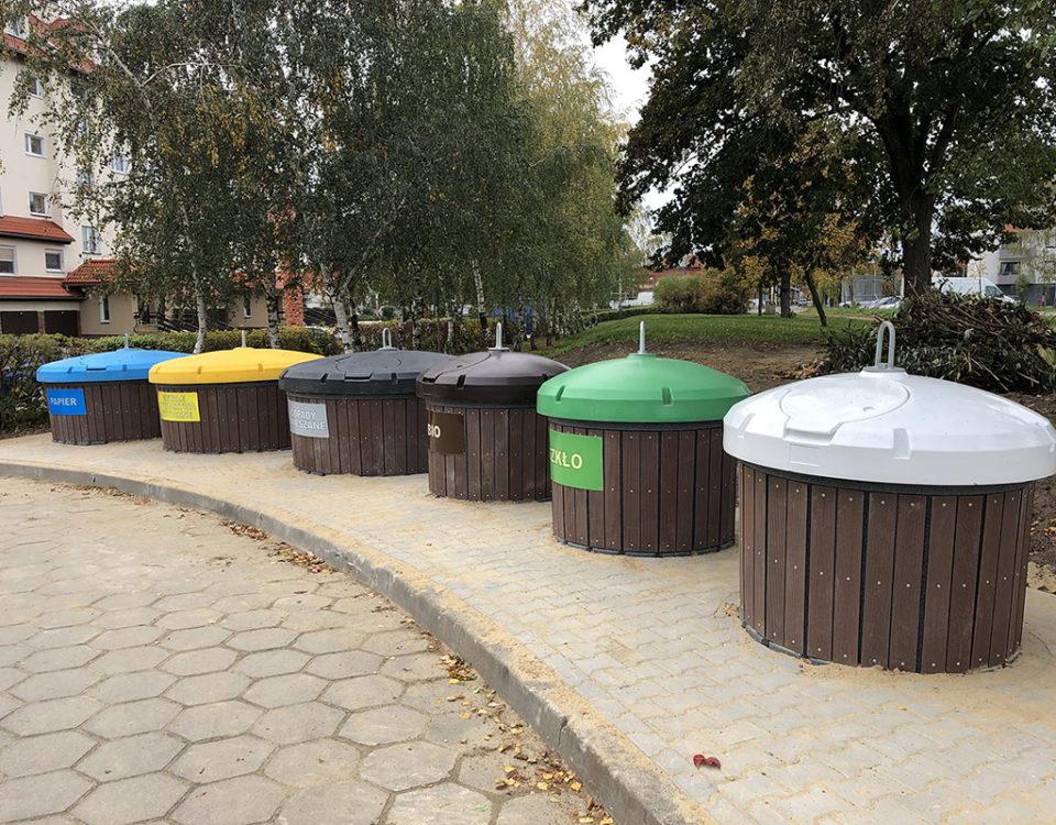 Śmietniki półpodziemne w Lesznie