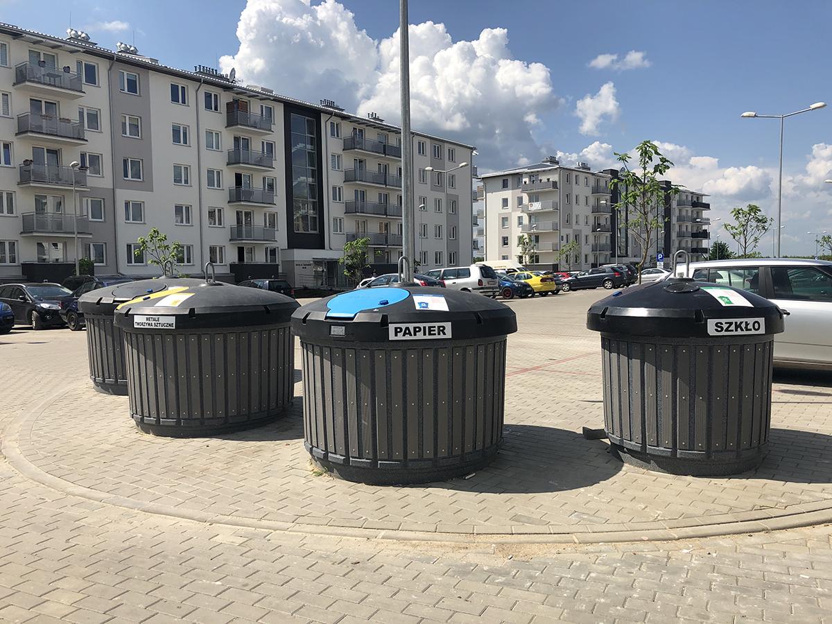 Śmietniki półpodziemne Olsztyn