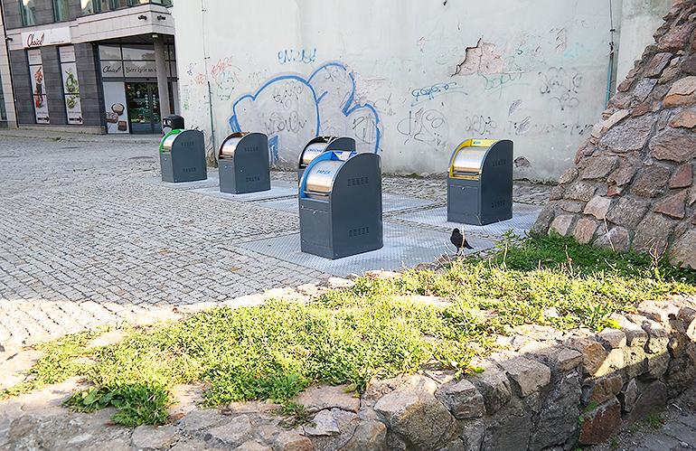 Podziemne kontenery na śmieci Jelenia Góra