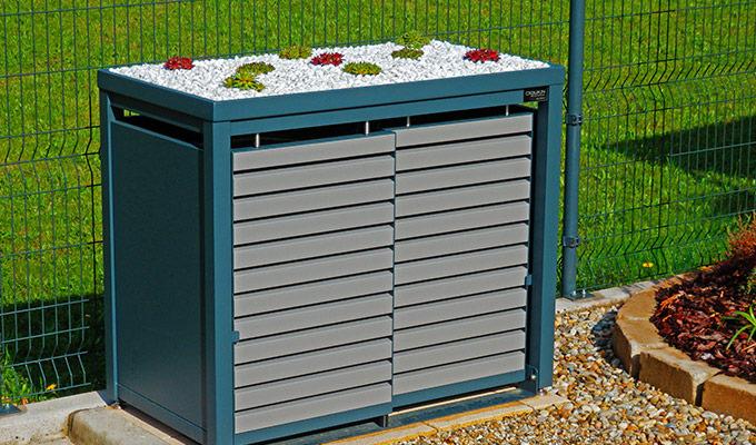 Estetyczne obudowy do pojemników na śmieci 120-240 l