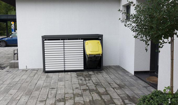 Jak zakryć śmietniki na posesji?