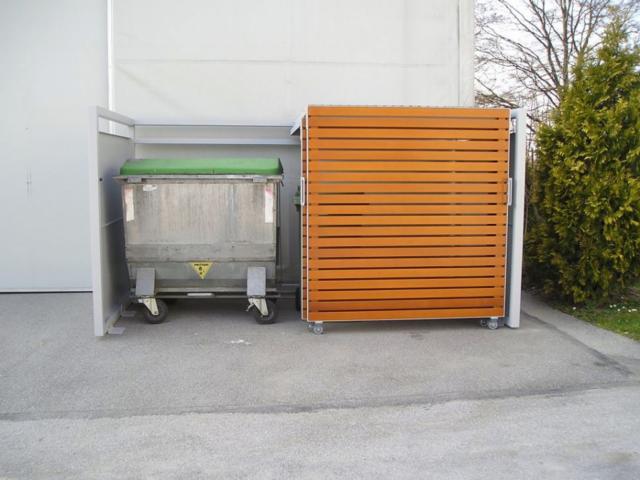Jak zakryć brzydkie śmietniki? Obudowy do pojemników na śmieci 660-1100 l