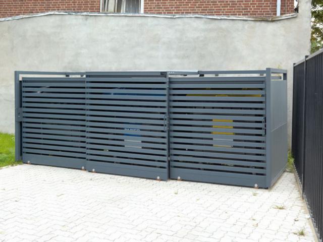Obudowy do śmietników 660-1100 l