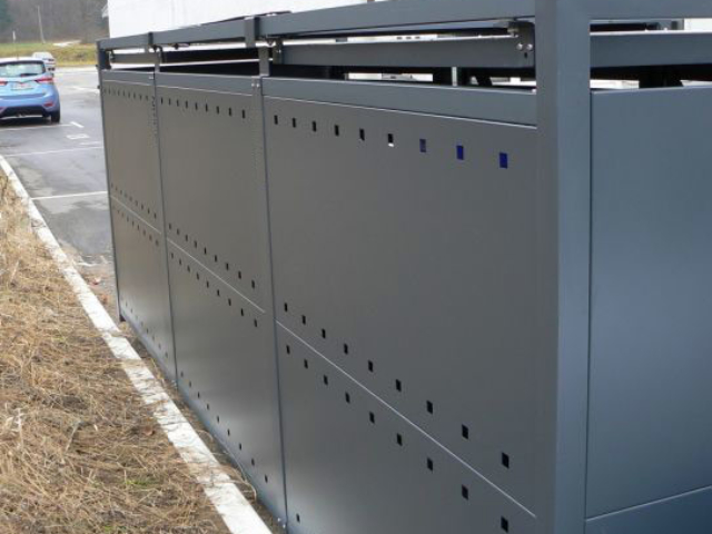 Obudowy do pojemników na śmieci 660-1100 l